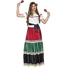 Fyasa 706477-t04 mexicano Mujer Disfraz, Tamaño grande