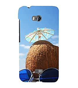 Beach Holidays 3D Hard Polycarbonate Designer Back Case Cover for Micromax Bolt Q336