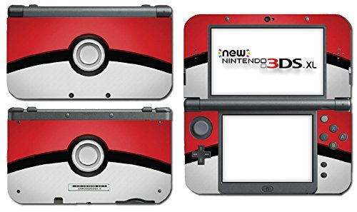 Pokemon Pokeball Pikachu Special Edition Video Game Vinyl Decal Skin Sticker Cover for the New Nintendo 3DS XL LL 2015 System Console by Vinyl Skin Designs (Pokemon 3ds Xl Cover)