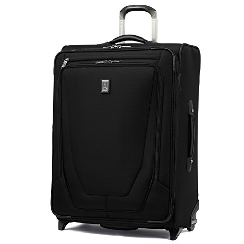 """Travelpro Crew 11 26"""" Expandable Upright Suiter, Black"""