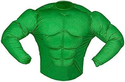 Widman - Disfraz de Hulk para niño, talla 11 - 12 años (12588)
