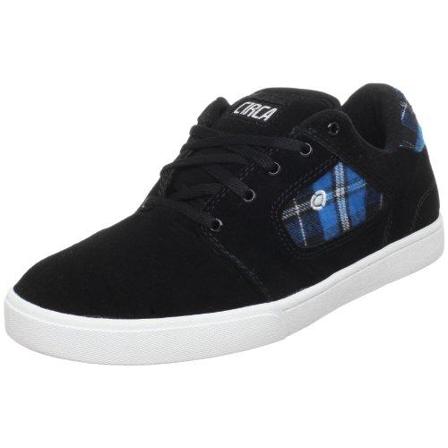 C1rca Garra, Calçados Esportivos Masculinos - Skate Preto / Manta Preta / Azul