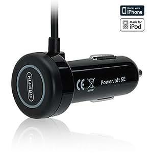 PowerJolt SE - Auto-Ladegerät mit Sicherung speziell für Apple iPhone, iPhone 3G und 3GS, sowie iPod