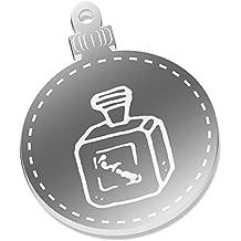 2 x 52mm 'Botella de Perfume' Espejo Decoraciones de Navidad (CB00044444)