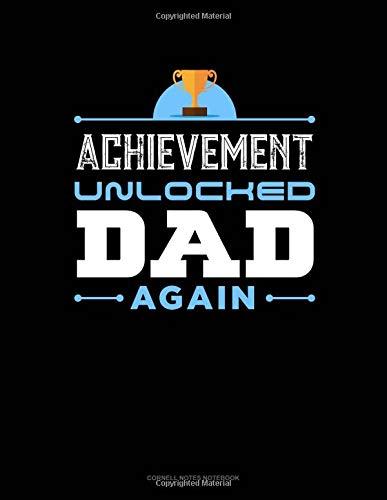 Achievement Unlocked Dad Again: Cornell Notes Notebook por Jeryx Publishing