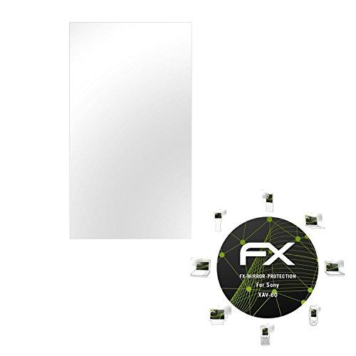 Sony XAV-60 Spiegelfolie – atFoliX FX-Mirror Displayschutz Folie mit Spiegeleffekt