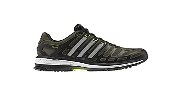 50081a9634ca Sonic Boost Running Shoes Earth Green Neo Iron Metallic Solar Slime - size  11  Amazon.co.uk  Shoes   Bags