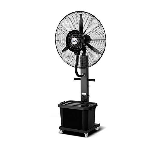 Ventilatoren MEIDUO Kühlen Industrielle Sprühnebel-Fan-Fabrik, die atomisierenden Luftbefeuchter 260W / 350W / oszillierend / 3 Geschwindigkeiten stäubt Schwingung Funktion (größe : 75CM(350W)) -