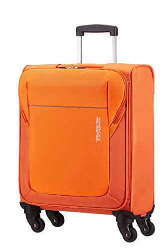 American Tourister – San Francisco spinner equipaje de cabina, naranja (bright orange), S (55cm-37,5L)