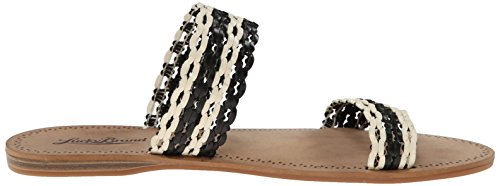 Lucky Brand Alddon Synthétique Sandale Black-Nigori
