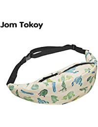 Buyworld Jom Tokoy Women Fanny Packs Cactus 3D Printing Mobile Phone Bag 2018 New Waist Bag Fashion Bum Bag Travelling...