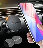 GETIHU Car Phone Holder, 360° Dashboard Mobile Phone Holders for Cars, Universal Magnetic Phone Mount GPS, Compatible with iPhone XS X 8 Plus Samsung Galaxy S9 Note 9 Huawei HTC Motorola Oneplus etc.