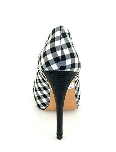 ROBERTO BOTELLA - Peep toes imprimé cadres Noir