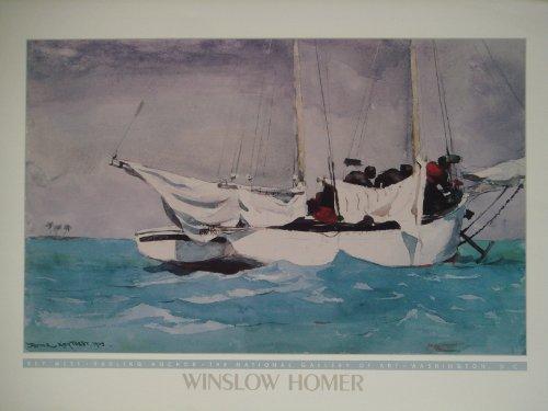 Key West von Winslow Homer Poster 50cms von 70cms