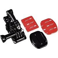 Hama Seite Helmhalterung für GoPro Kamera schwarz