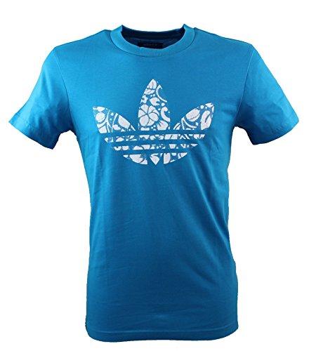 adidas Hawaii Trefoil T-shirt pour femme Turquoise