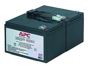APC RBC6 - Ersatzbatterie für Unterbrechungsfreie Notstromversorgung (USV) von APC - passend für Modelle SMT1000I / SUA1000I und andere