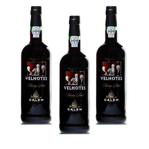 Portwein Calem Velhotes Tawny - Dessertwein- 3 Flaschen