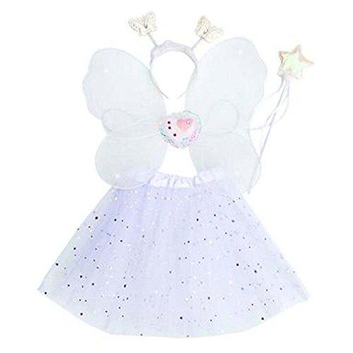Black Temptation Festliche Kinderkleidung Requisiten Cute Butterfly Wing Set Spielzeug Geschenk #21