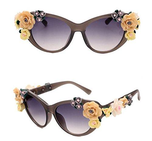 Polarisierte Sportart Sonnenbrille Fahrerbrille mit unzerbrechlichem Anti-Kratzer-Rahmen Anti-Diebstahl für Männer und Frauen Radfahren Fahren Fischen Fahren Wandern Golf ( Color : Gray )