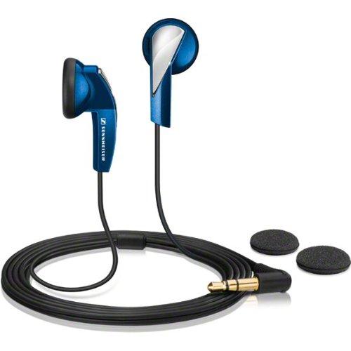 Sennheiser MX 365 In-Ear Micro-Kopfhoerer ergonomisch blue