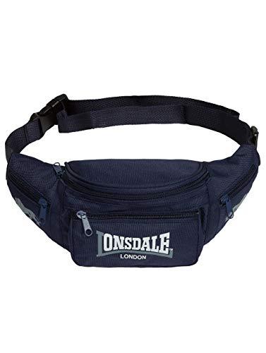 Lonsdale Bauchtasche HIP BAG, Farbe:navy/grey;Größe:one size