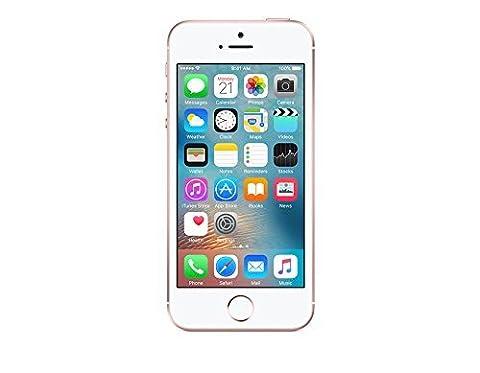 Apple iPhone SE Roségold 16GB SIM-Free Smartphone (Zertifiziert und Generalüberholt) (Sim For Iphone)