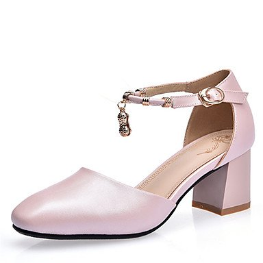 Zormey Frauen Schuhe Ferse Quadratische Spitze Knöchelriemen Pumpe Mehr Farbe Verfügbar US5 / EU35 / UK3 / CN34