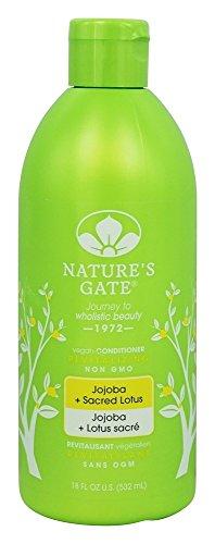 Nature 's Gate–Vegan Conditioner Revitalizing Jojoba + Sacred Lotus - Jojoba-revitalizing Conditioner