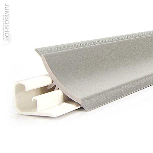 250cm Küchenabschlussleiste Küchenleiste Wandabschlussleiste -- 23 x 23mm LB23-231-0-610! ALUMINIUM SILBER -- Abschlussleiste UPS Küchen Arbeitsplatten