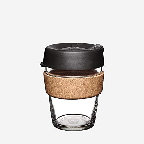 , wiederverwendbar Sicherheitsglas Medium (12oz) espresso ()