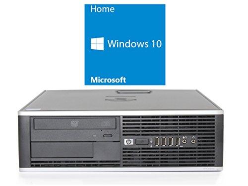 Refurbished Office PC | HP 8000 SFF | Intel Core 2 Duo E8500 @ 3,16 GHz | 4GB RAM | 250GB HDD | DVD-Brenner | Windows 10 Home vorinstalliert (Zertifiziert und Generalüberholt)