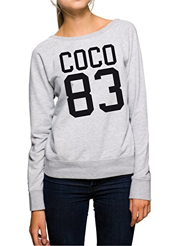 Coco 83 Sweater Girls Grey-XL