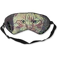 Eye Mask Eyeshade Cat Painting Art Sleep Mask Blindfold Eyepatch Adjustable Head Strap preisvergleich bei billige-tabletten.eu