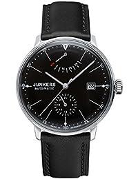 Junkers Herren-Armbanduhr XL Bauhaus Automatik Analog Automatik Leder 60602