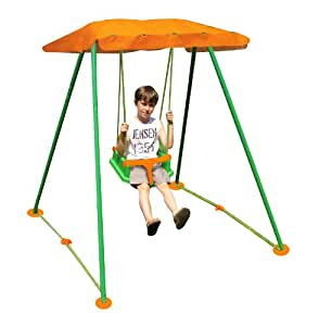 new plast amb1319 folding swing dragonfly with parasol and