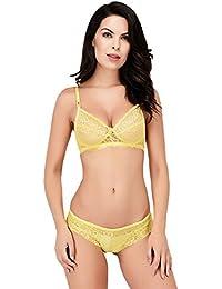 d0cb25cff5 Yellows Women s Lingerie Sets  Buy Yellows Women s Lingerie Sets ...