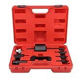 Zerone Injektor-Auszieher, 8 Stücke Common Rail Injektor Extractor Diesel Puller Set Passt Mit Box