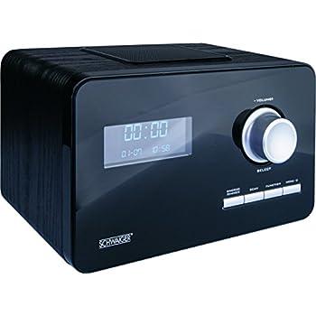 noxon dradio 1 radio mit akku dab und ukw empfang journaline ewf farbdisplay schwarz. Black Bedroom Furniture Sets. Home Design Ideas