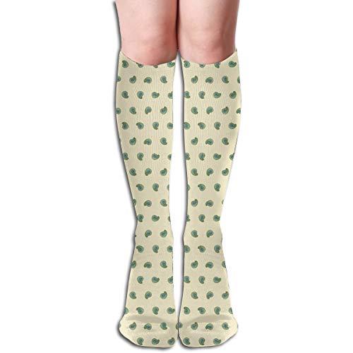 ley Block Marty McFly Cuff Women Tube Knee Thigh High Stockings Cosplay Socks 50cm (19.6 inch) ()