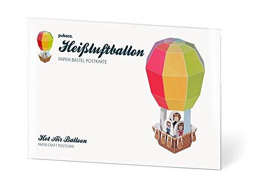 Heißluftballon Postkarten selbst gestalten