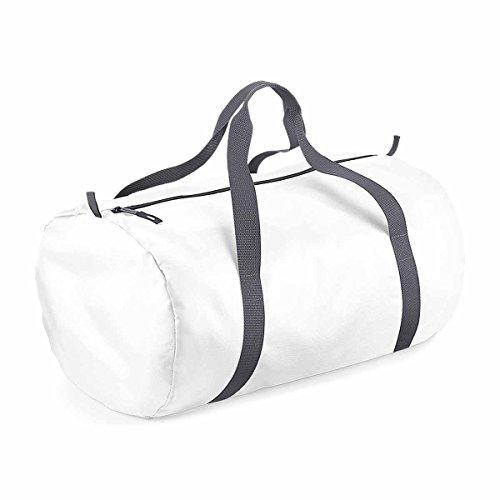 Bag-base - sac de voyage d'appoint - repliable dans une pochette - ultra-léger - BG150 (Blanc)