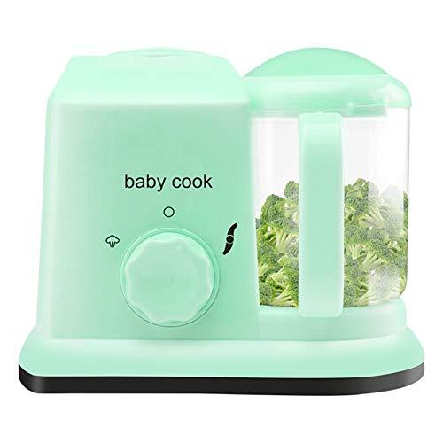 Euopat Steam Cooker, Préparateur d'aliments pour bébé 5-en-1, Robot culinaire Multifonctionnel...