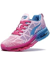 Weibliche Sportschuhe Schuhe Kissen Schuhe Sommerschuhe Damen Freizeitschuhe leichte atmungsaktive Polsterung läuft