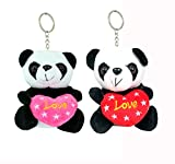 Best Keychain Set Of 2 - Tickles Loving Panda Keychain (Set of 2) Review