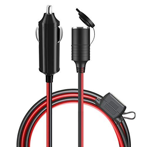 Lampa Zigarettenanzünder-Stecker mit Schnellanschlüssen
