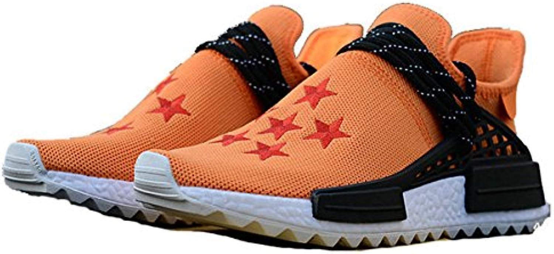 Fashion HM Sneaker Z x NMD Hu Trail Vegeta Rattan Yellow Black White Herren Damen Gymnastikschuhe
