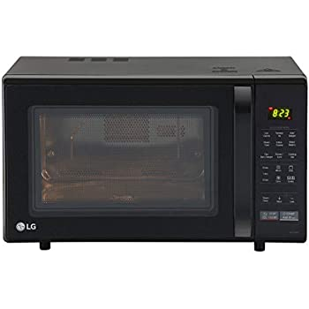 Lg 28 L Convection Microwave Oven Mc2846bg Black With