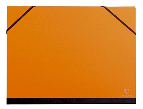 Clairefontaine 28 x 38 cm - 3 pièces carton à dessin-Orange