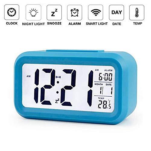 OurLeeme Reloj de Alarma Digital